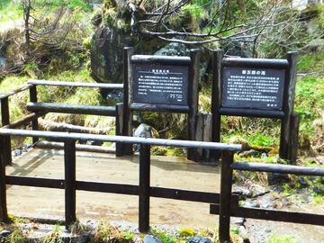 案内板のある一番下の滝見台