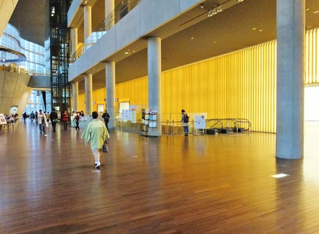 9・国立新美術館館内