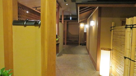 9・山味庵の個室へ