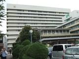 慶応病院本館全貌