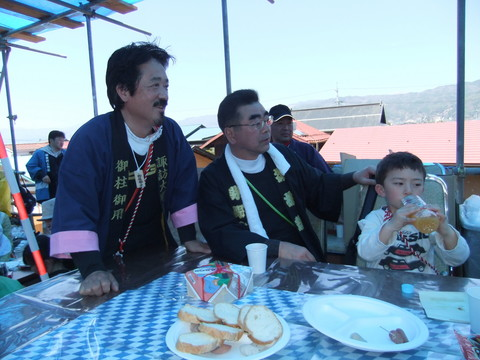 坂本氏と柳平茅野市長