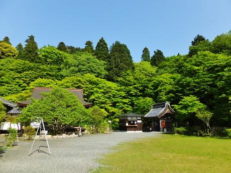 22・百済寺・本坊の建つ平坦地