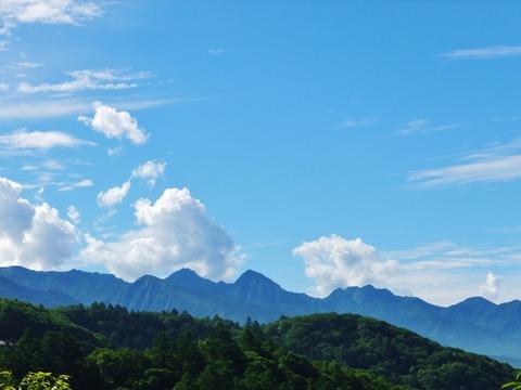 2・8月の八ヶ岳