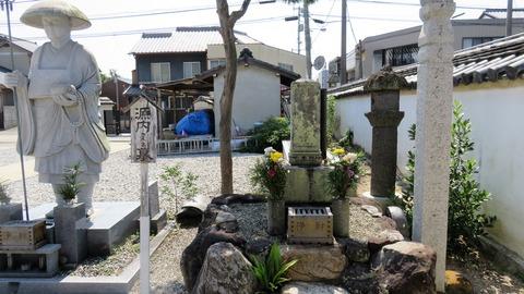 23・平賀源内の墓 常楽寺
