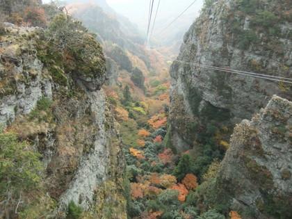 狭隘な渓谷