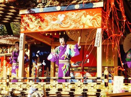 3・お捻りの舞う日本駄右衛門の名演技