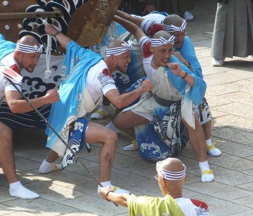 本古川町・御座船