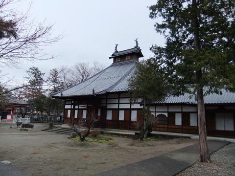 長国寺本堂