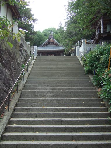 観音堂階段