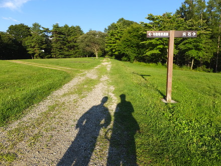 13・縄文人の人影・尖石遺跡