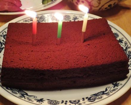 12・私の大好きな生チョコケーキ