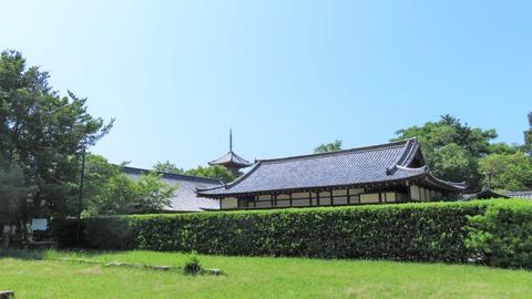 13・お辻の井戸・納経所・五重塔・書院