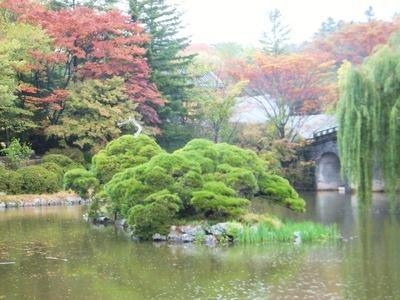 般若池と解脱橋