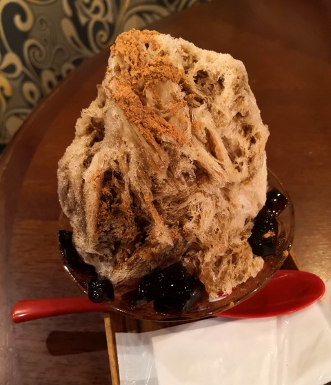 【珈琲専門店の名物かき氷】京都の夏は前田珈琲本店のカプチーノかき氷で始まる