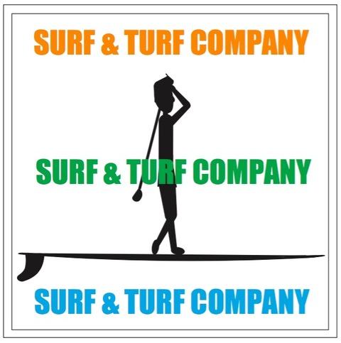 SURF & TURF ロゴマーク