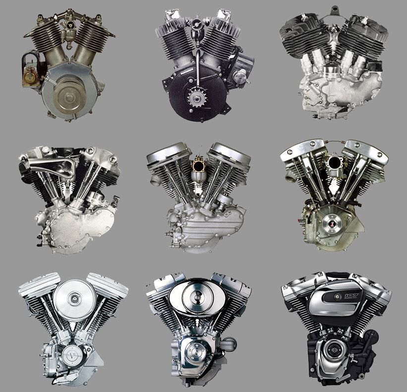 ハーレー エンジン