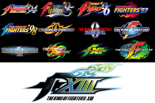 kingoffighter94-xiii_logo-series