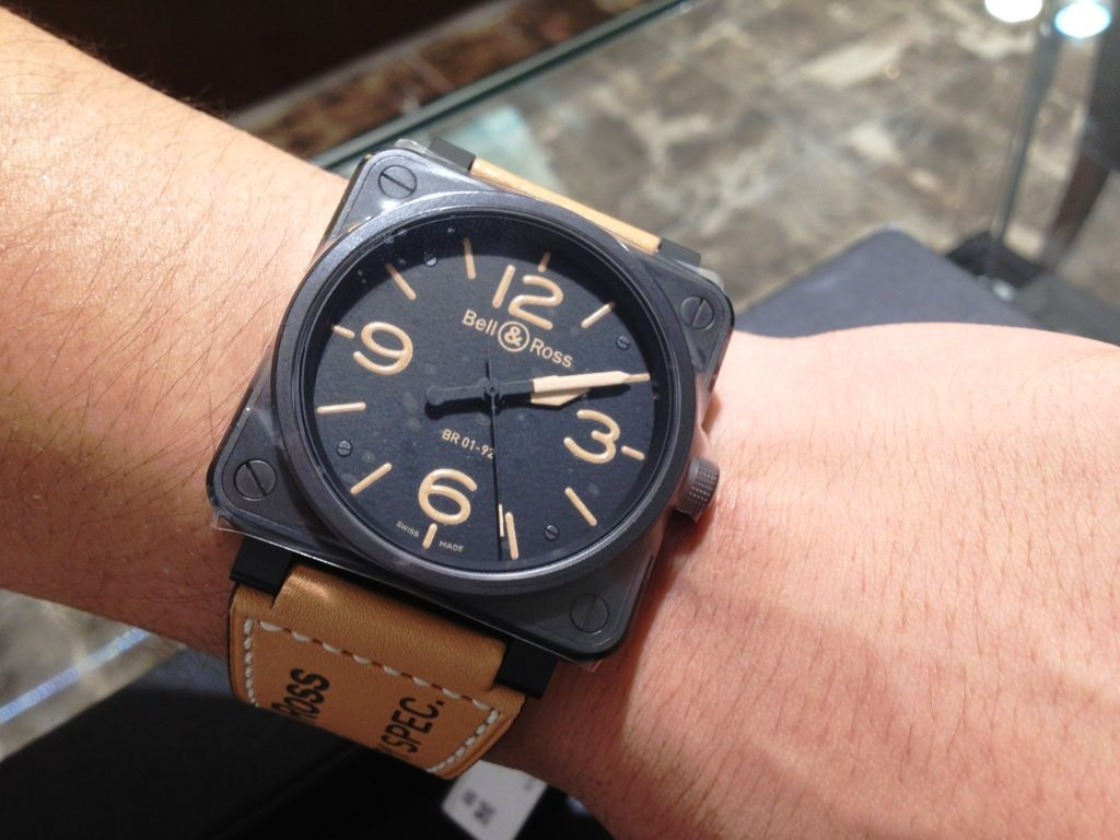 pretty nice cfb46 d5c69 HF-AGE京都店素敵な時計のブログ:S様Bell&Ross BR01-92 HERITAGE ...