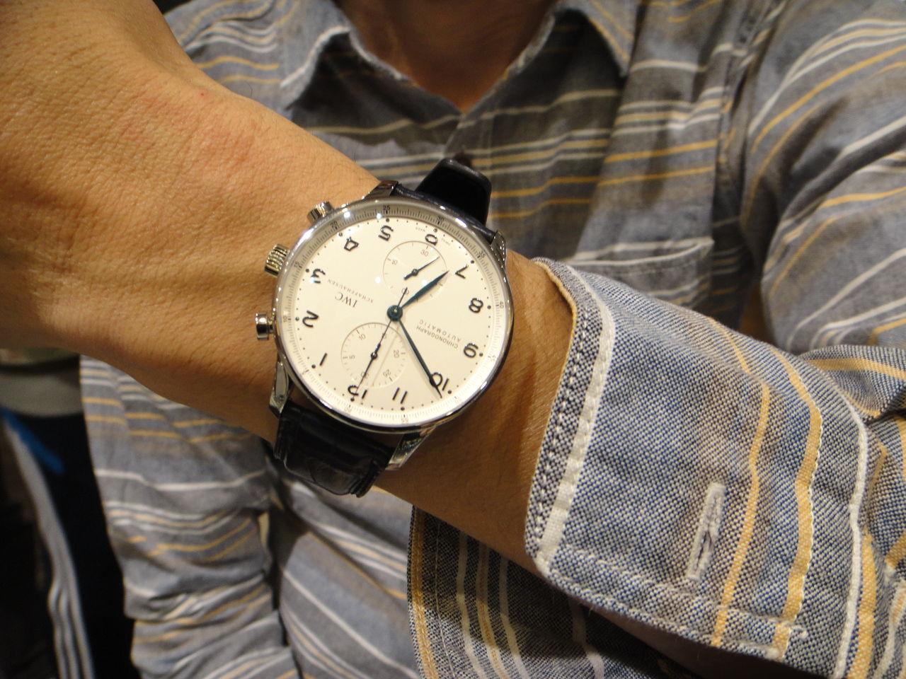 hot sales c9bbf a6127 機械式腕時計専門店 HF-AGE 仙台店のブログ:IWC ポルトギーゼ ...