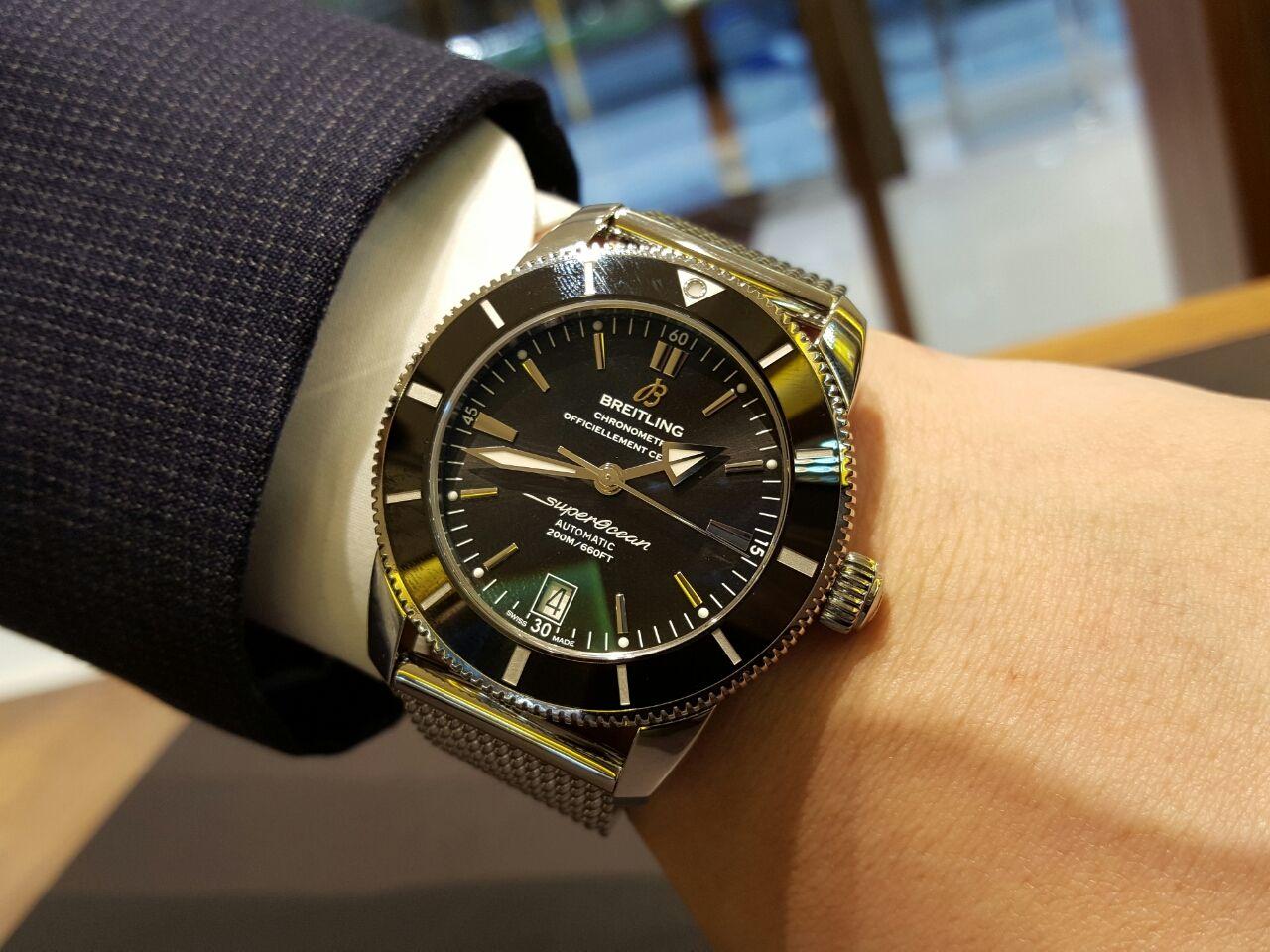 pretty nice 16f37 1dec0 機械式腕時計専門店 HF-AGE 仙台店のブログ:荻島様の腕に輝いた ...
