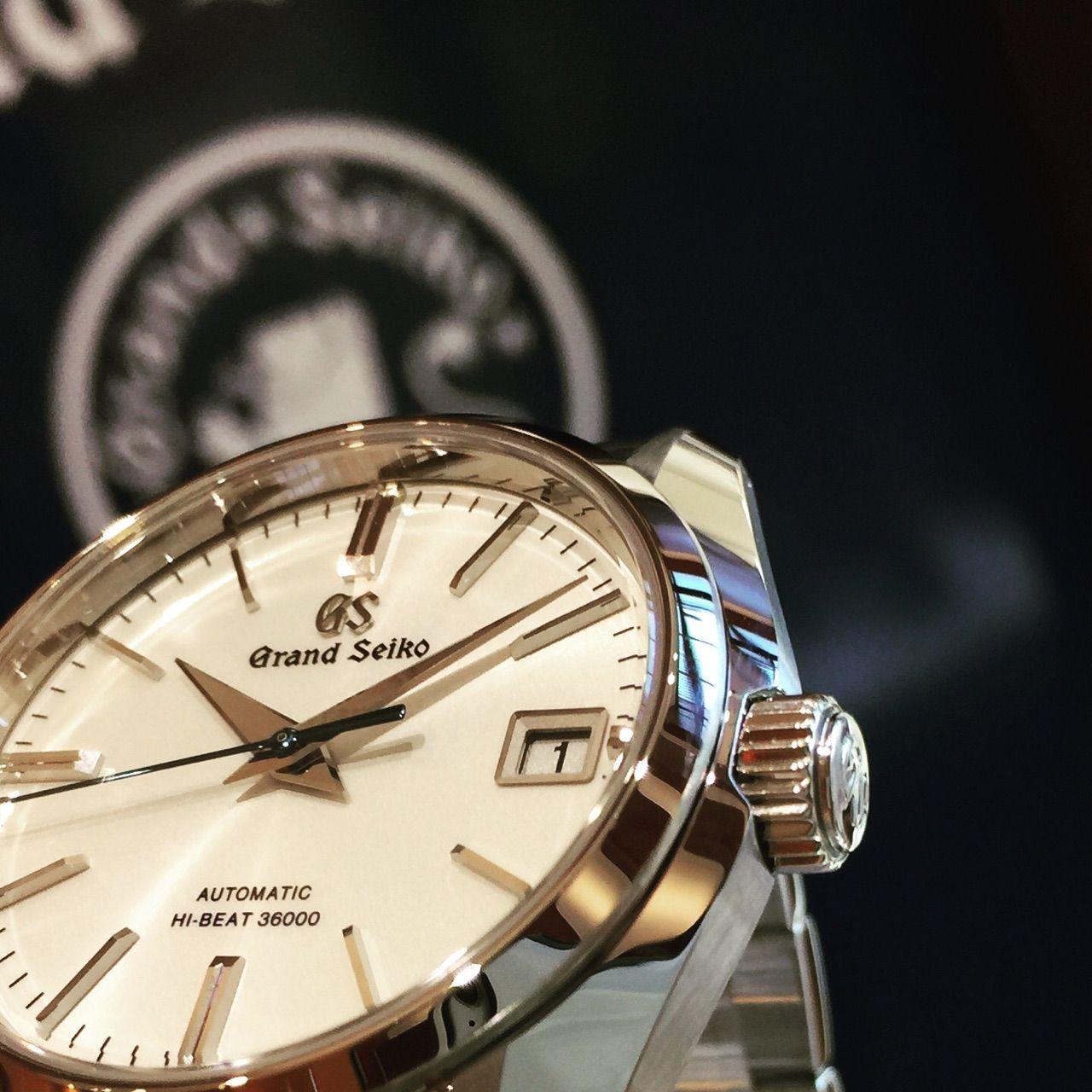 newest collection ac75a 2269b GS SBGH201 青色の秒針が素敵なモデル (^^) : 輸入時計 正規販売 ...