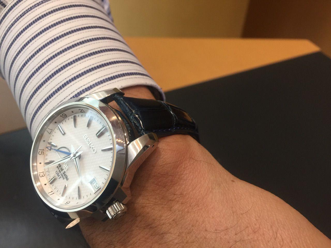 100% authentic 4ca52 9b6c9 輸入時計 正規販売店 HF-AGE高崎店のブログ:GS 革ベルトも ...