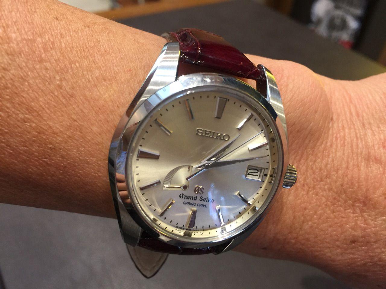 newest df37a ea39b 輸入時計 正規販売店 HF-AGE高崎店のブログ:I様のGSの時計が秋 ...