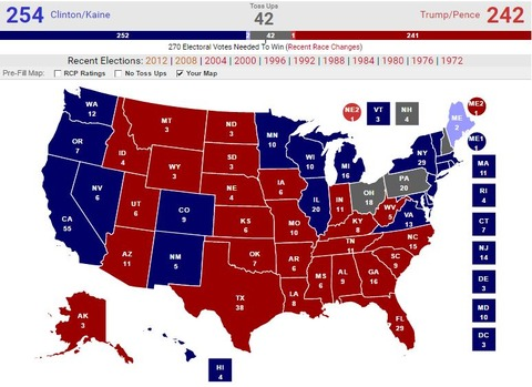 20161108presidentialelectionmypredictionmap005