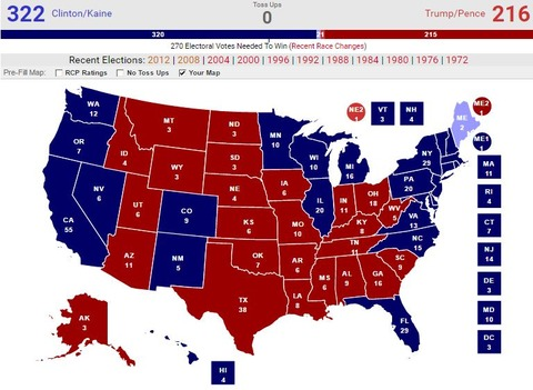 20161108presidentialelectionmypredictionmap003