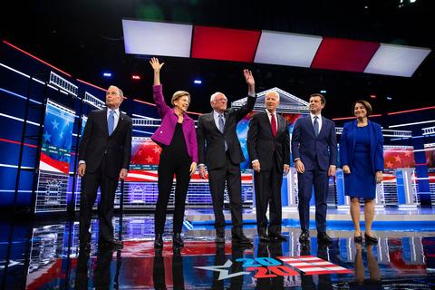 2020democraticpresidentialdebateinnevada001