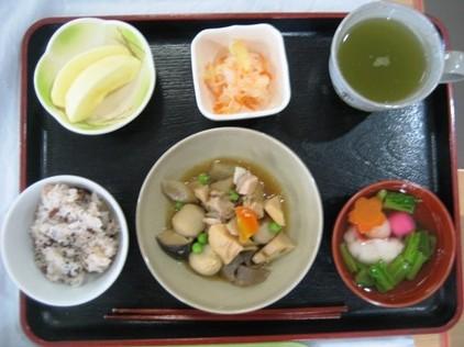 20120104おせち風昼食メニュー