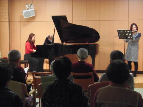 20170119ピアノとフルートのコンサート (10)