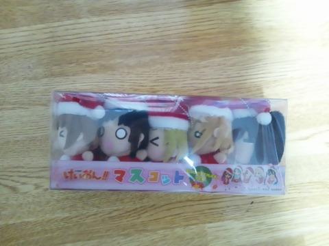 けいおんクリスマスケーキフィギュア