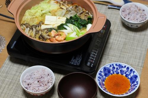 ちなみに、土鍋はどうしても底が焦げ付いてしまうので取りやすくするために水に少々浸しておかねばなりません。この手間がないことのが電気炊飯器のメリットです
