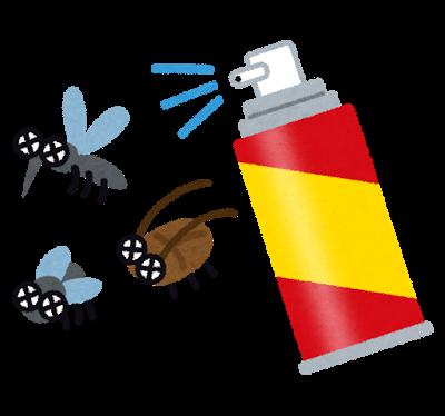殺虫剤 イラスト