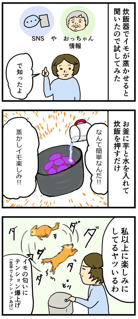 炊飯器いもぶ1