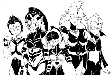 ウルトラの乙女たち