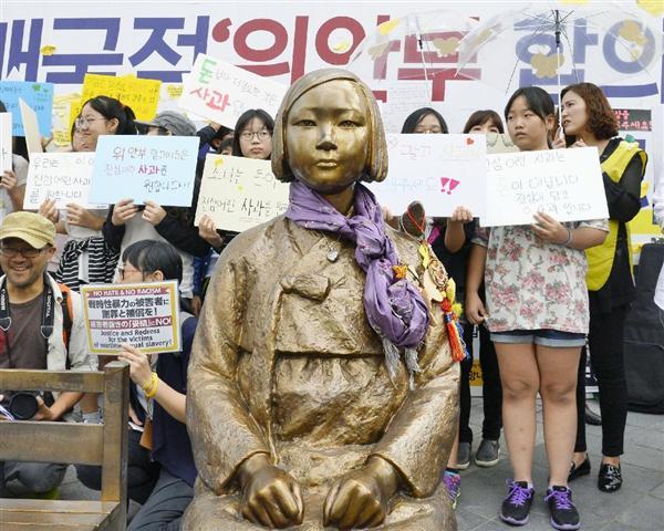 マイク・ホンダ、韓国の新たな慰安婦像公開で「日本に求めるのは謝罪!」→キャスター「2015年、安倍首相が謝罪したが?」→ マ「あれは謝罪では無い!」