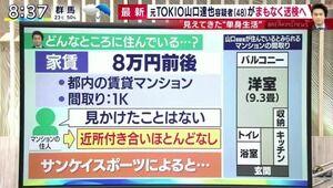 【事故物件】元TOKIO・山口達也さんの住んでる部屋がコチラwwww