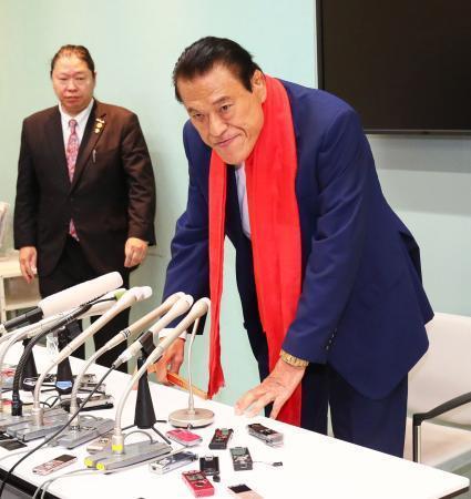 アントニオ猪木「北朝鮮の空気が変わってきている。今は日本側がドアを全く閉ざしている状況。お互いの言い分もあるから対話が必要」