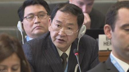 """【軍縮会議】北朝鮮 軍縮会議で制裁決議を強く非難 """"米に究極の手段用意"""""""