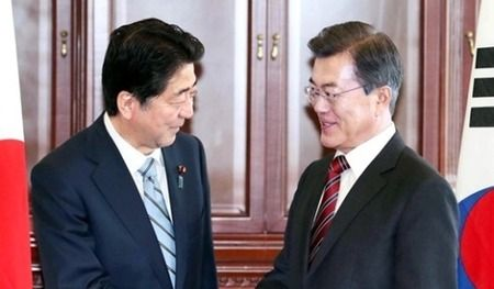 【対北朝鮮】安倍首相「北朝鮮、先に核放棄が対話条件」…韓国と温度差