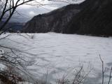 広瀬ダム全面凍結