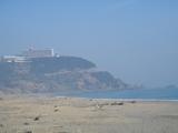 ビューホテルと伊良湖の海