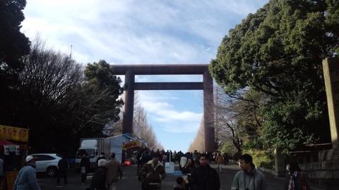 2011初詣・靖国神社7