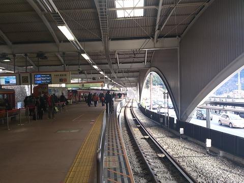 箱根湯本駅1