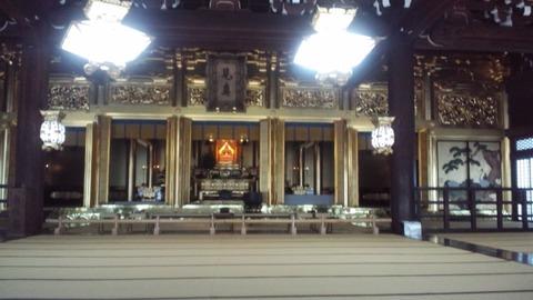 仏光寺2御影堂