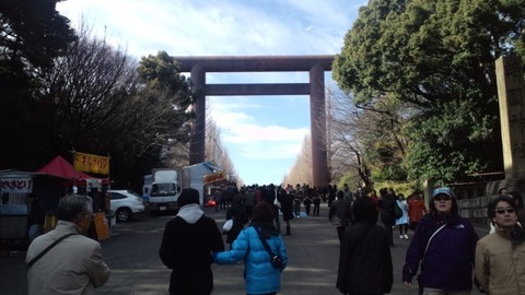 2011初詣・靖国神社8