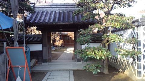 妙覚寺8寺務所門