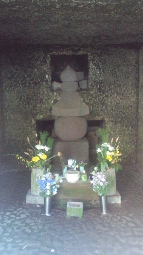 寿福寺5政子墓